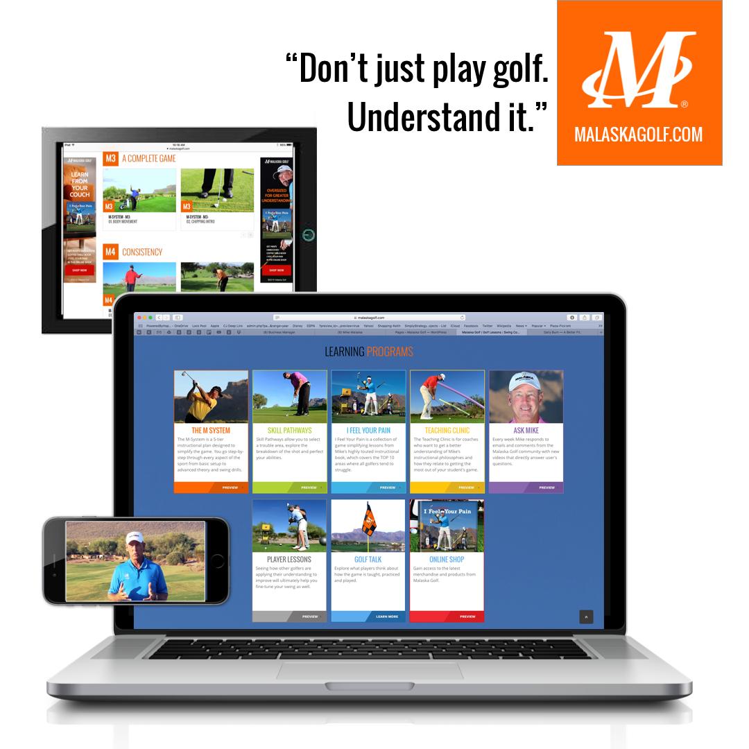Malaska Golf, Mike Malaska, golf instruction, golf teacher